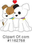Royalty-Free (RF) Puppy Clipart Illustration #1162768