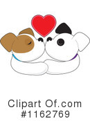 Royalty-Free (RF) puppy Clipart Illustration #1162769