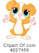 Royalty-Free (RF) Puppy Clipart Illustration #227456