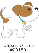 Royalty-Free (RF) Puppy Clipart Illustration #231531