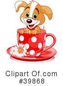 Royalty-Free (RF) Puppy Clipart Illustration #39868