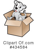 Royalty-Free (RF) Puppy Clipart Illustration #434584