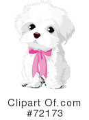 Royalty-Free (RF) Puppy Clipart Illustration #72173