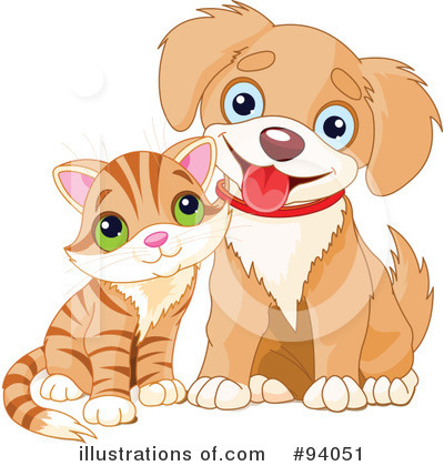Cat And Dog Clipart #94051 by Pushkin