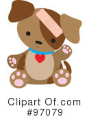 Royalty-Free (RF) Puppy Clipart Illustration #97079