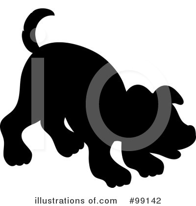 Puppy Clipart #99142 by Pams Clipart