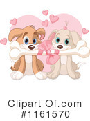 Royalty-Free (RF) puppy love Clipart Illustration #1161570