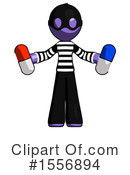 Purple Design Mascot Clipart #1556894 by Leo Blanchette