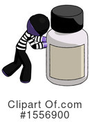 Purple Design Mascot Clipart #1556900 by Leo Blanchette