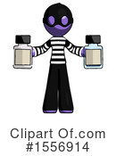 Purple Design Mascot Clipart #1556914 by Leo Blanchette