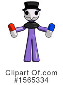 Purple Design Mascot Clipart #1565334 by Leo Blanchette