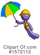 Purple Design Mascot Clipart #1572112 by Leo Blanchette