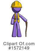 Purple Design Mascot Clipart #1572149 by Leo Blanchette