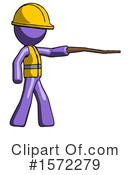 Purple Design Mascot Clipart #1572279 by Leo Blanchette