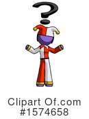 Purple Design Mascot Clipart #1574658 by Leo Blanchette