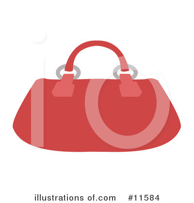 Purse Clipart #11584 by AtStockIllustration