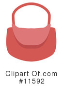 Purse Clipart #11592 by AtStockIllustration