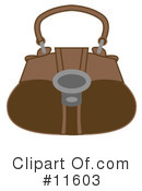 Purse Clipart #11603 by AtStockIllustration