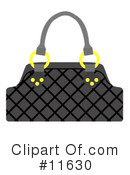 Purse Clipart #11630 by AtStockIllustration