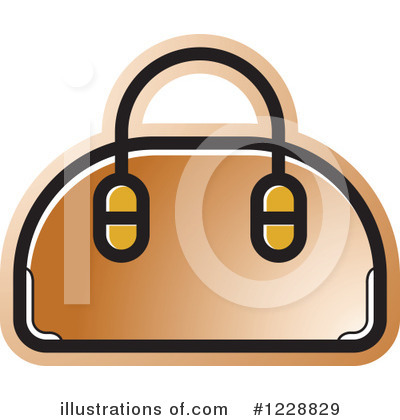 Purse Clipart #1228829 by Lal Perera