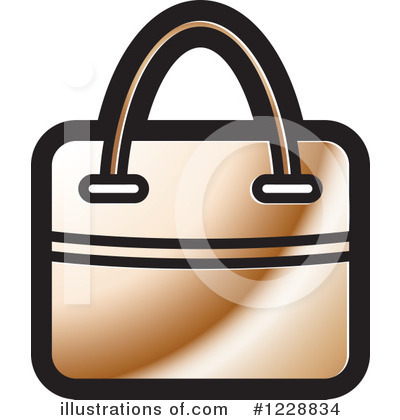 Purse Clipart #1228834 by Lal Perera