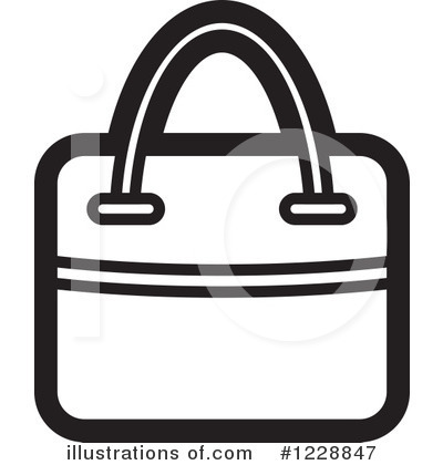Purse Clipart #1228847 by Lal Perera