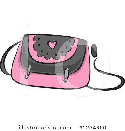 Purse Clipart #1234860 by BNP Design Studio