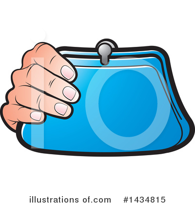 Purse Clipart #1434815 by Lal Perera