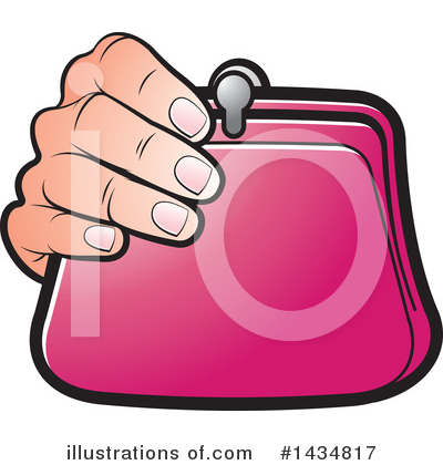 Purse Clipart #1434817 by Lal Perera