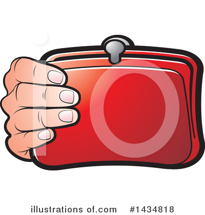 Purse Clipart #1434818 by Lal Perera