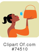 Purse Clipart #74510 by Monica