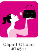 Purse Clipart #74511 by Monica