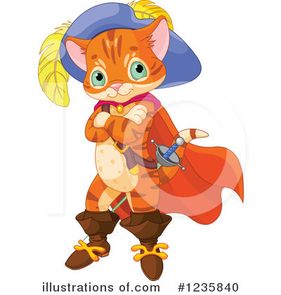 Puss In Boots Clipart #1235840 by Pushkin