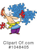 Puzzle Clipart #1048405 by toonaday