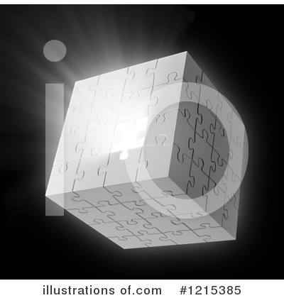 Puzzle Cube Clipart #1215385 by Mopic