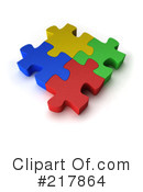 Puzzle Clipart #217864 by stockillustrations