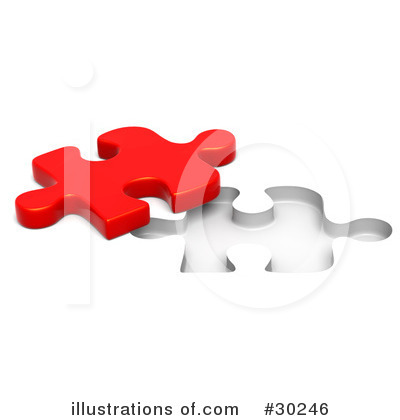 Jigsaw Puzzle Clipart #30246 by Tonis Pan