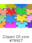 Royalty-Free (RF) Puzzle Clipart Illustration #78927