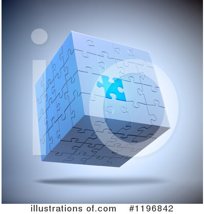 Puzzle Cube Clipart #1196842 by Mopic