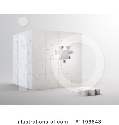 Puzzle Cube Clipart #1196843 by Mopic