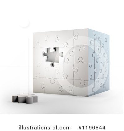 Puzzle Cube Clipart #1196844 by Mopic