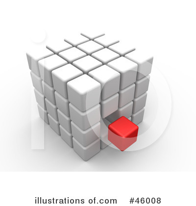 Cubes Clipart #46008 by 3poD