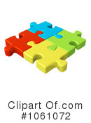 Puzzle Piece Clipart #1061072 by ShazamImages