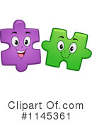 Royalty-Free (RF) puzzle piece Clipart Illustration #1145361