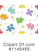 Royalty-Free (RF) Puzzle Piece Clipart Illustration #1145455
