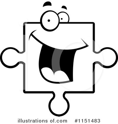 Puzzle Piece Clipart #1151483 by Cory Thoman