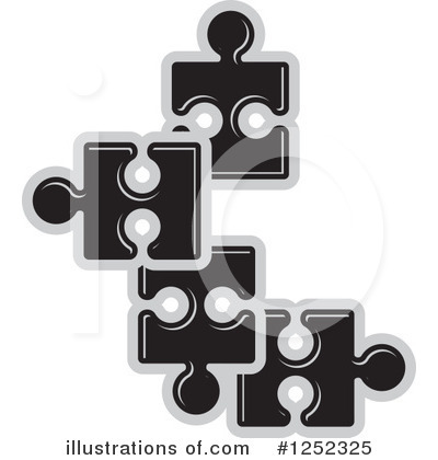 Puzzle Piece Clipart #1252325 by Lal Perera