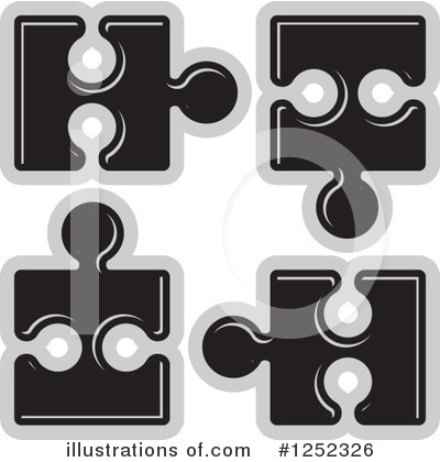 Puzzle Piece Clipart #1252326 by Lal Perera