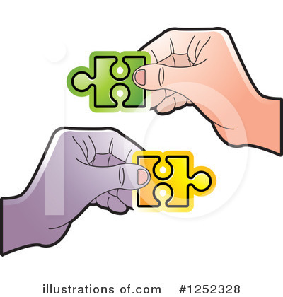Puzzle Piece Clipart #1252328 by Lal Perera