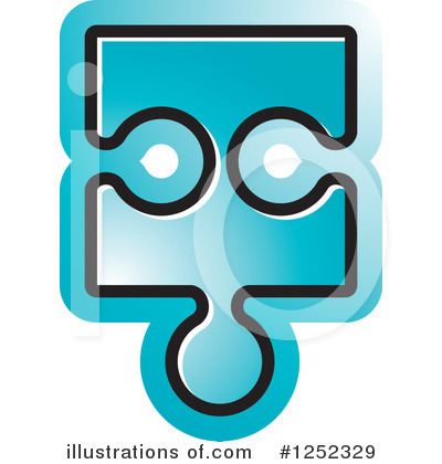 Puzzle Piece Clipart #1252329 by Lal Perera